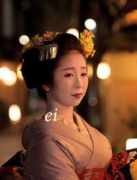 舞妓千賀遥・夜の宮川町 - ちょっとそこまで