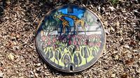 マンホールカード14枚目ゲット、羽村市動物公園で。サーバルにも出会いました。 - 蜃気楼の如く
