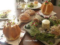 クリスマススペシャルレッスン始まりました^^ - 小さなパンのアトリエ *Atelier Yuki*  (七ヶ浜パン教室)