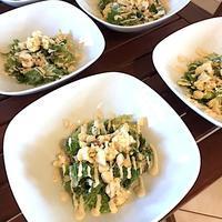 乳製品なしのシーザーサラダ - 玄米菜食 in ニュージャージー