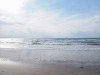 冬の浜 - いつかみたソラ