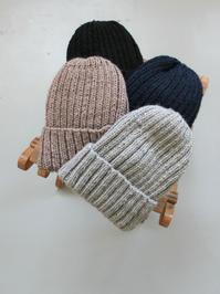 Proof band knit mills RIB HAND KNIT CAP - 『Bumpkins putting on airs』
