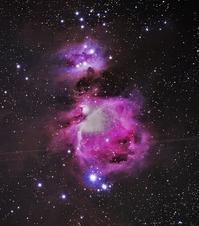M42@安倍川河川敷 - 安倍奥の星空