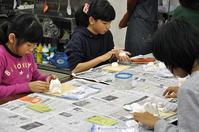 児童画クラス犬の置物を作ろう! - 大阪の絵画教室|アトリエTODAY