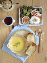 冬の朝ごはん - 陶器通販・益子焼 雑貨手作り陶器のサイトショップ 木のねのブログ