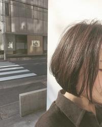 シンプル、そして上品bob☆ - COTTON STYLE CAFE 浦和の美容室コットンブログ