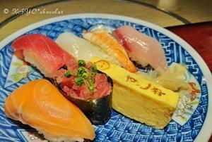 お寿司とうどんを - わたしの足跡2