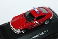 1/87 Schuco Mercedes-Benz AMG GT S EMERGENCY MODEL - 1/87 SCHUCO & 1/64 KYOSHO ミニカーコレクション byまさーる