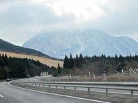 雪道ドライブ2017初冬 - 皿倉山の見える家