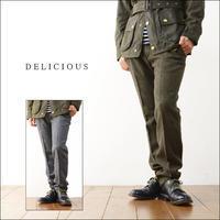 DELICIOUS [デリシャス] TWEED RELAX PANTS [DP2932] ツィードパンツ MEN'S - refalt   ...   kamp temps