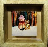阪神百貨店美術画廊にて、本日も、ありがとうございました(*^^*) - Hiroko Sato ~日々~