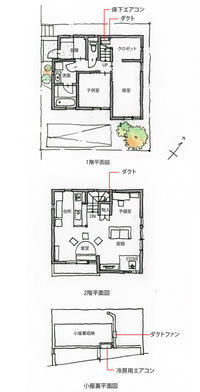 杉並の家の床下エアコン(3) - 楽家記(らくがき)