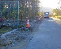 ブロック塀撤去と梶よう子12月12日(火)その2 - しんちゃんの七輪陶芸、12年の日常