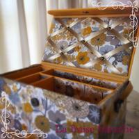 お道具箱 - カルトナージュ教室 & ハンドクラフト教室 ~ La fraise blanche ~ ラ・フレーズ・ブロンシュ