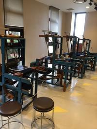 久留米絣 手織り講習会に参加 - てしごと sataya
