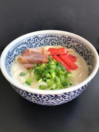 味噌牛乳うどん(2つ) - ぼっちオバサン食堂