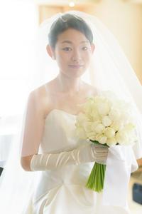 新郎新婦様からのメール夢パークハイアット東京の花嫁様より - 一会 ウエディングの花