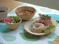 ベーグル朝ごはん - 陶器通販・益子焼 雑貨手作り陶器のサイトショップ 木のねのブログ