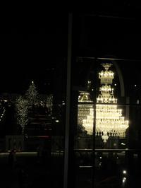 【恵比寿ガーデンプレイス「バカラ」のシャンデリアとウェスティンのツリ―】 - お散歩アルバム・・冬の足音
