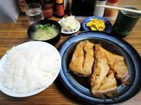 カレイの煮付け定食620円 - 札幌ランチ漂流