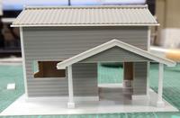 初レイアウトに挑戦!(ホ)~ 2.駅舎を作る(1) - 【趣味なんだってば】 鉄道模型とジオラマの製作日記