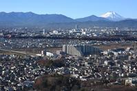 中央線と富士山 - 立川のいまはここ