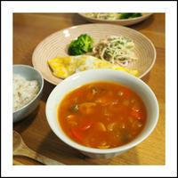 寒すぎるからスープがメイン - * cinqante - サンカント *