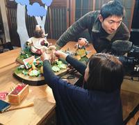 NHK撮影のひとこま  〜まんまるパンと、憧れのブーフーウーと。〜 - Bon Copain!