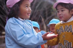 よかったな。ー③ー - 陽だまりの小窓 - 菊の花幼稚園保育のようす