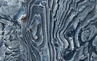 マーズ・リコネッサンス・オービーター捉えた火星の不思議な形をした断層 - 秘密の世界        [The Secret World]