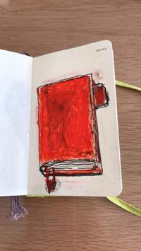 一日一絵   モレスキンにほぼ日手帳 - ~メインクーンと一緒~デナちな日々