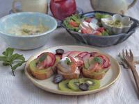 りんごがおいしい朝ごはん - 陶器通販・益子焼 雑貨手作り陶器のサイトショップ 木のねのブログ