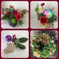 micaさんのクリスマス飾り - Rico 花の教室