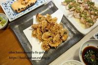 蛸の柔らか煮を天ぷらにすると、美味しい~んです(^^♪ - おばちゃんとこのフーフー(夫婦)ごはん