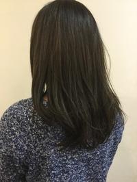 今季注目ブルージュカラーリングのお客さま - HAIR SALON BOUQUET blog