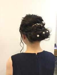 ヘアセットのお客様 - HAIR SALON BOUQUET blog