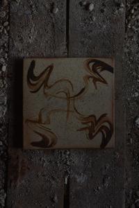 泥彩盤 - やきものをつくろう  生畑皿山窯