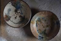 打釉皿2種 - やきものをつくろう  生畑皿山窯