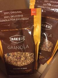 またまたBAKEDのグラノーラ - Mango juice