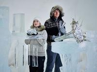 Terje Isungset - 今日、ロンドンで氷の楽器コンサート - タダならぬ音楽三昧