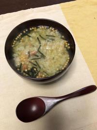 お茶漬け - 庶民のショボい食卓