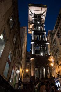 リスボン探訪(宵闇時のバイシャ地区 3-6 ) - 写真の散歩道
