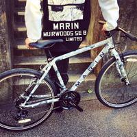 2018 MARIN マリン 限定カラー ミュアウッズ se 8 おしゃれ自転車 オシャレ自転車 自転車女子 自転車ガール クロスバイク カモ柄 - サイクルショップ『リピト・イシュタール』 スタッフのあれこれそれ