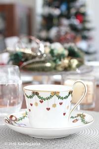 12月のテーブルコーディネートとお飲み物 - おうちパン教室楓ケ丘
