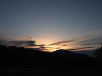 富士と幻日 - 八ヶ岳 革 ときどき くるみ