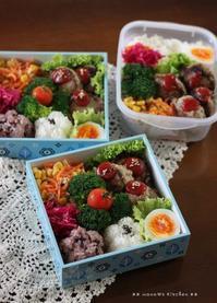 ミニハンバーグ ✿ 三枚肉そば(๑¯﹃¯๑)♪ - **  mana's Kitchen **