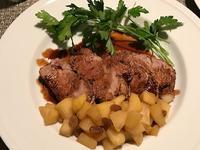 フライパンで作る豚フィレ肉のローストバルサミコ酢風味 - やせっぽちソプラノのキッチン2