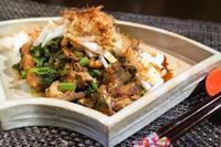 ■簡単5分!!【鯖缶と大根葉のソテーに長芋乗っけ盛り】調味料は醤油のみ♪ - 「料理と趣味の部屋」