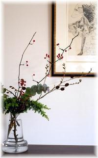 何となくクリスマスの花 - Less is more