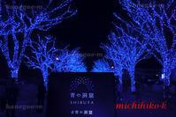 青の洞窟イルミネーション渋谷 - 風景写真家 鐘ヶ江道彦のフォトブログ